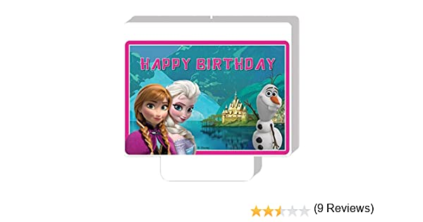 Unique Party 72033, Vela de Cumpleaños, Disney The Ice Queen