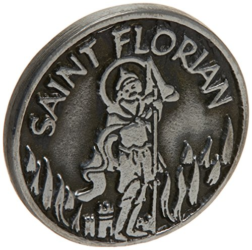 Cathedral Art PT406 Saint Florian Pocket Token, 1-Inch ()