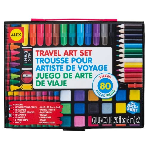 Wholesale ALEX Toys Artist Studio Travel Art Set with Carrying Case free shipping