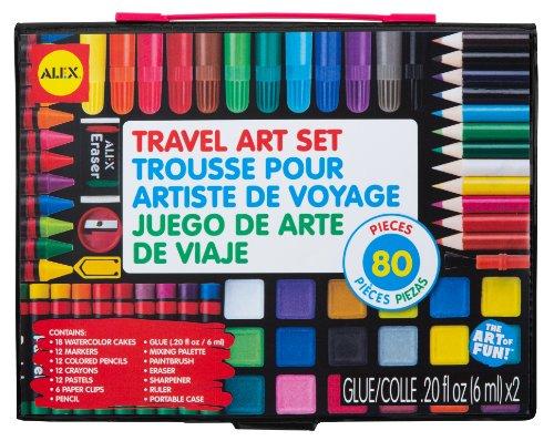 ALEX Toys Artist Studio Travel Art Set with Carrying (Alex Toys Art Box)