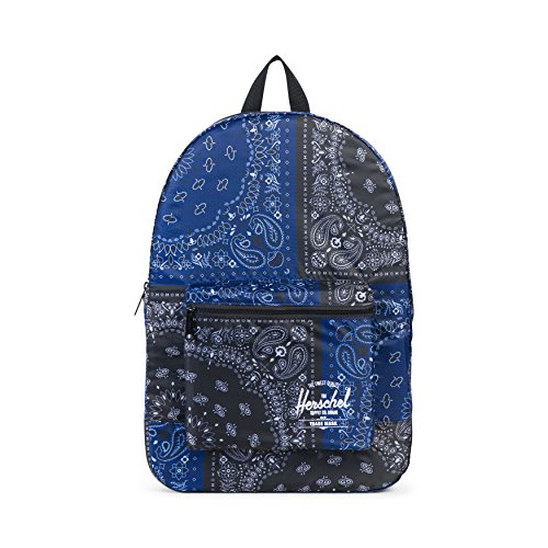 Herschel Supply Co. Packable Daypack Backpack, Navy/Black Bandana