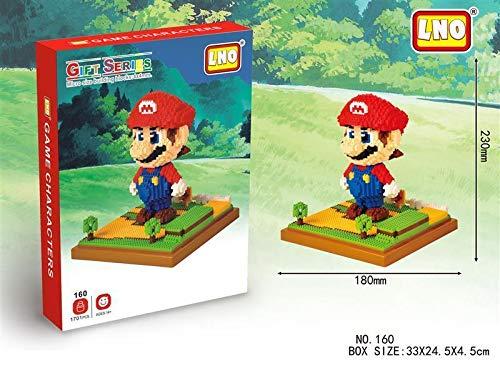 THTB Super Mario Building Block Set ca.9, 05 inch Super Mario