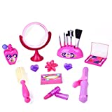 FUN LITTLE TOYS Pretend Makeup for Girls, Kids Play Makeup Kit for Toddlers, Toy Makeup Set for 3 + Year Old Girls