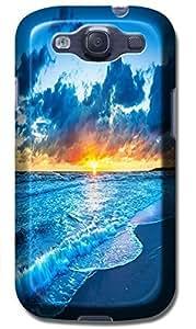 Fantastic Faye Cell Phone Cases For Samsung Galaxy S3 i9300 No.11 The Fashion Design With Warm Sunshine Beach Blue Sky Clean Water Sea Star Beautiful Shell Slipper WANGJING JINDA