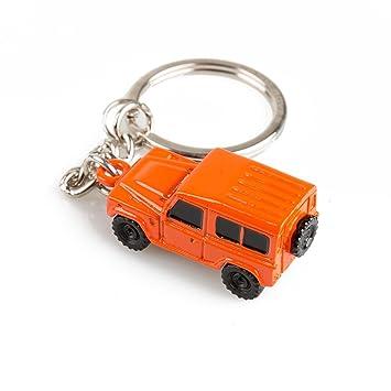 Land Rover Defender 3d llavero, naranja: Amazon.es: Coche y moto