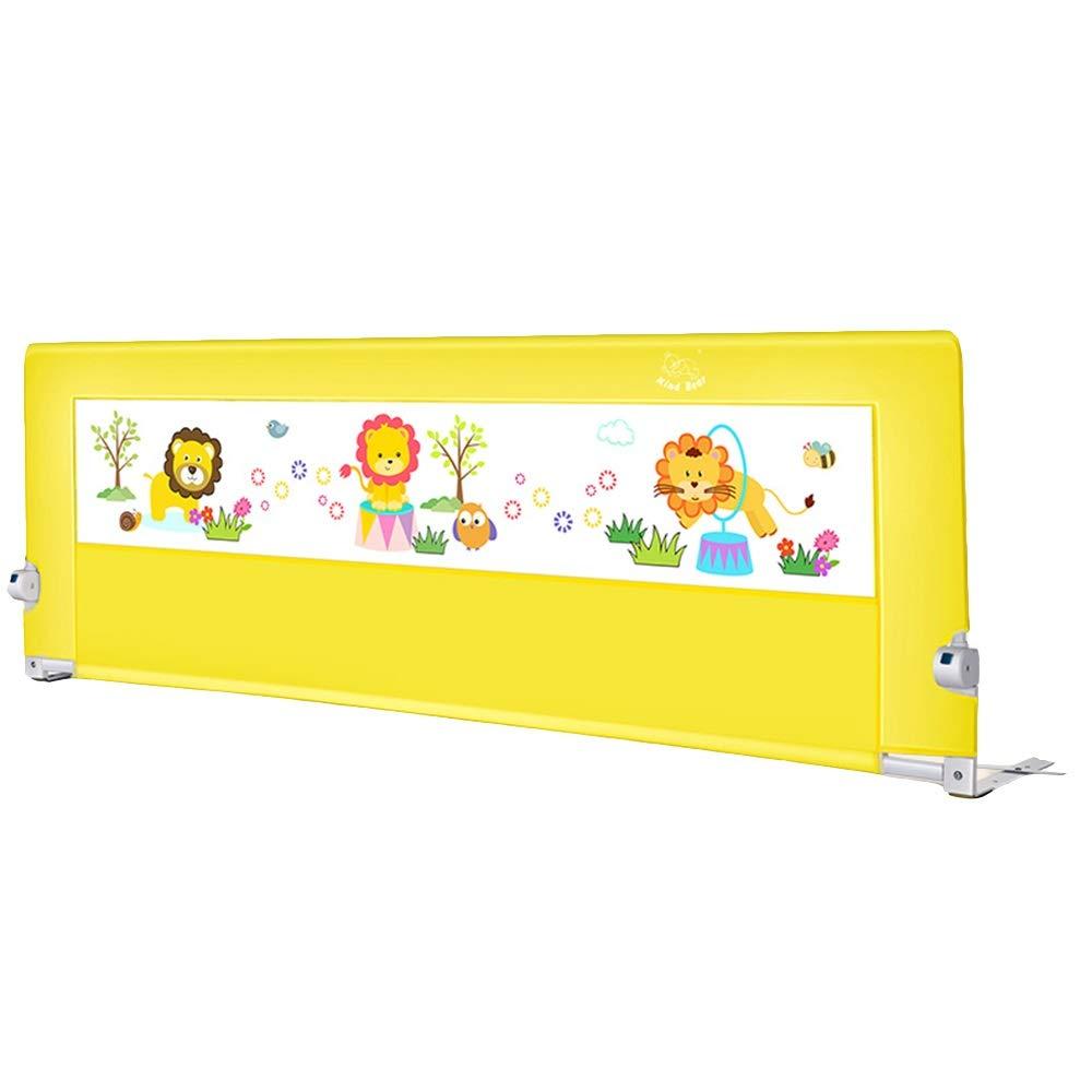 Xyanzi-ガードレールフェンス 子供&ベビーベッドレール、折りたたみ安全ベッドガードフルサイズクイーン&キングマットレスユニバーサルフィット用スラット&ボックススプリング (色 : C, サイズ さいず : 150cm) B07S3QTH36 C 150cm
