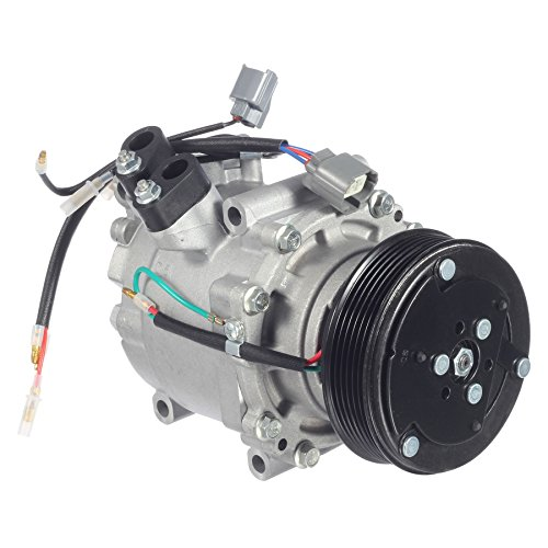 AUTEX AC Compressor & A/C Clutch Replacement CO 10541AC 38810P5M016 57878 77599 6512266 2004913AM replacement for Acura EL 2001 1.7L/Honda Civic 2001 1.7L/Honda Prelude 1997 1998 1999 2000 2001 2.2L