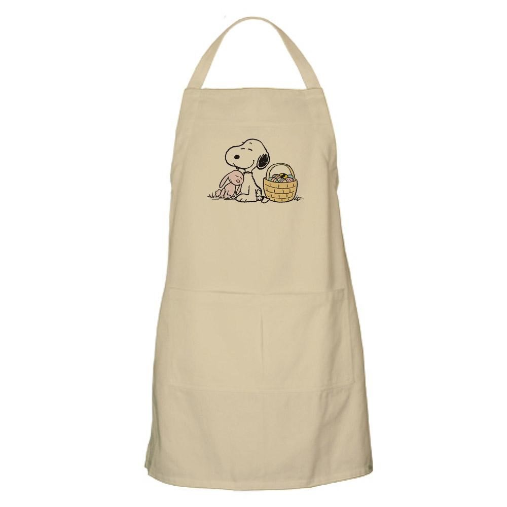 CafePress - Beagle And Bunny Apron - Kitchen Apron with Pockets