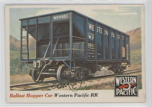 Ballast Hopper (Ballast Hopper Car (Trading Card) 1955 Topps Rails and Sails - [Base] #29)