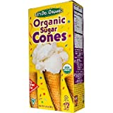 Let's Do Organics Sugar Cones, 4.6-ounce Boxes (Pack of 12)