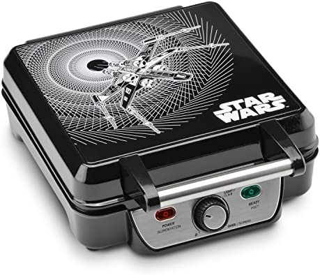 Star Wars LSW-281CN 4-Waffle Maker, 4 Sl