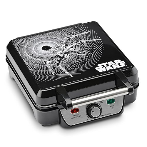 Lowest Price! Star Wars LSW-281CN 4-Waffle Maker, 4 Slice, Black