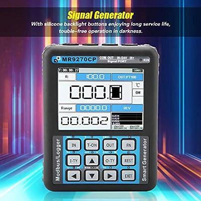 Signal Generator,High Precision MR2.0 TFT PRO+ 4-20mA Signal Generator Calibration Current Voltage Thermocouple US Plug AC 110V
