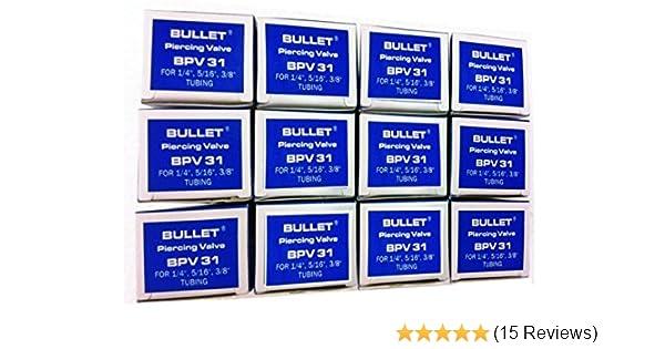 SUPCO BPV-31 Bullet 3-in-1 Line Tap Piercing Valve, 500 psi Pressure, 1/4