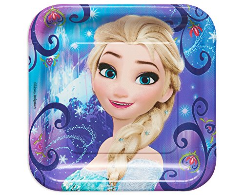 Ameri (Disney Frozen Party Square Dinner Plates)