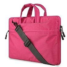 "ORICSSON Tablet Sleeve 15""-15.6"" Water Resistant Laptop Case Bag Pink"