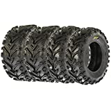 SunF All Trail & Mud ATV UTV Tires 24x8-12 24x10-11 6 PR A041 (Complete Full Set of 4)