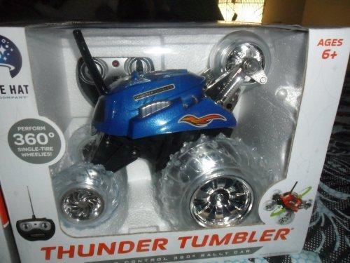 Thunder Tumbler Radio Control 360 Degree Rally Car   Blue