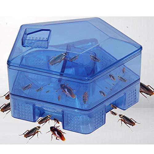Shoppy Star Cucaracha Casa Cucaracha Trampa Repelente Matar Cebo Fuerte Pegajosa Atrapador Atrapa Insectos Repelente...