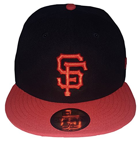 New Era 59FIFTY San Francisco Giants Black MLB 2017 Authentic Collection On Field Alternate Fitted Cap Size 7 3/4 - San Francisco Giants Fitted Game