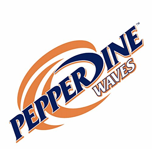 (WinCraft Pepperdine University Waves Pepperdine Waves 4x4 Perfect Cut Decal)