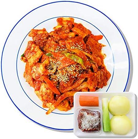 「韓サイ」ピリ辛 サムギョプサル炒めの 手作りキット!+レシピも一緒に♬