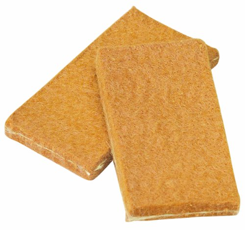 Walter 54B026 High Conductivity Standard Cleaning Pads, 1-51/64″ Length x 29/32″ Width x 0.15″ Thick (Pack of 10)