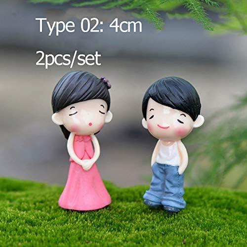 SeedWorld - Juego de Figuras Decorativas y miniaturas para niñas, 2 Unidades, diseño de Hadas, gnomos de jardín, decoración en Miniatura, 1 Unidad: Amazon.es: Jardín