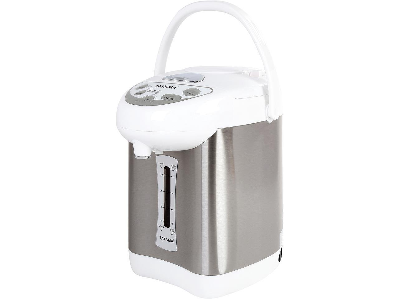 Tayama AX-300 Electric Thermo Pot, 2.8 L, White