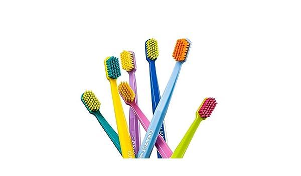 Suave y con filtro UV de cepillos de dientes del, de 15 juego de cepillos para, suave y Curaprox iluminación superbrillante de 5460.