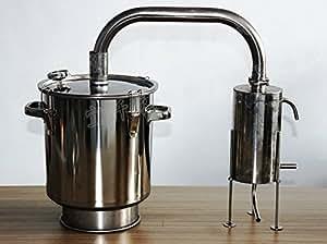 50L Liters 13 Gal Home Distiller Boiler Spirits Water Alcohol Oil Brew Kit Moonshine Still by Yuewo