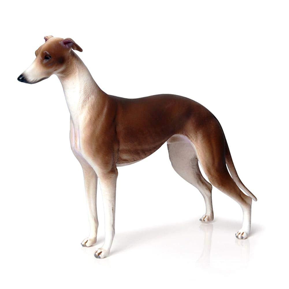 Winnerruby Greyhound Hound Simulation Chien Animal Jouet Jouet