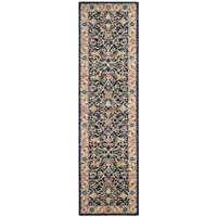 Safavieh Madison Collection MAD612D Navy and Cream Bohemian Chic Oriental Runner (23 x 10)