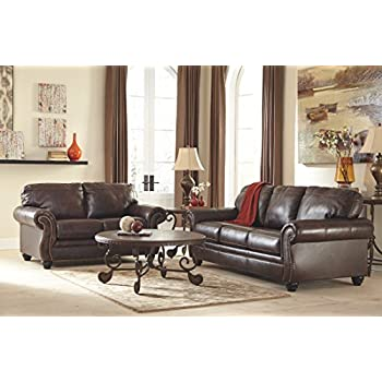 Amazon Com Ashley Bristan Collection 8220239 Queen Sofa