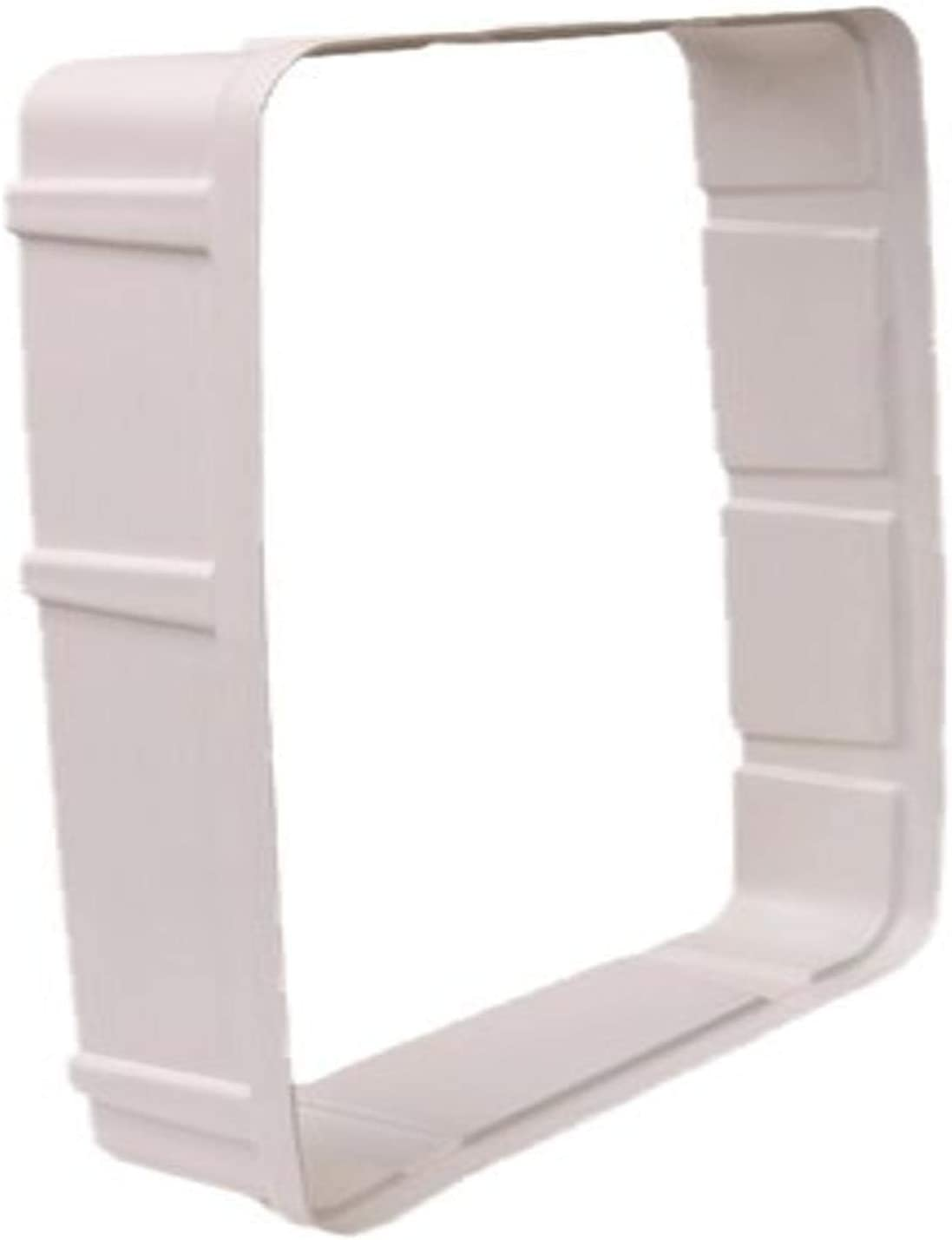 PetSafe Wall Tunnel Extension Electronic SmartDoor, Large, White