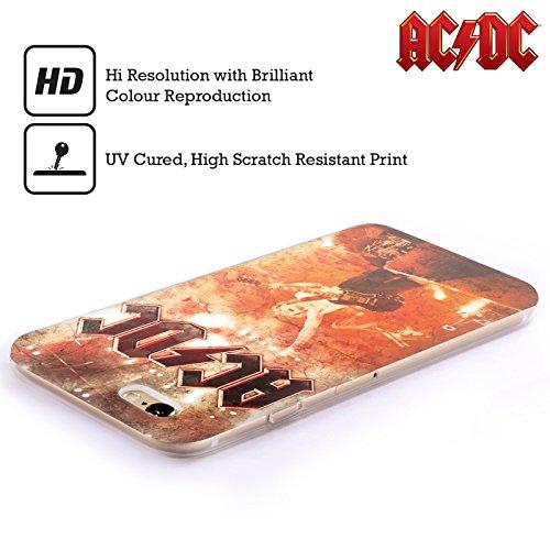 Officiel AC/DC ACDC En Direct Au Río De La Plata Art D'album Étui Coque en Gel molle pour Apple iPhone 6 / 6s