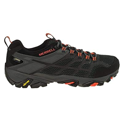 Merrell Moab FST 2 Gore TEX Men's Black and Granite Hiking Shoes Size 7.5 | Hiking Shoes