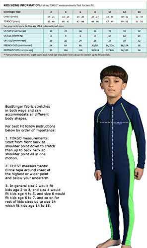 281fdbc5ab2 Little Boys Sun Protection Swimwear Stinger Suit Full Body 4 - Import It ...