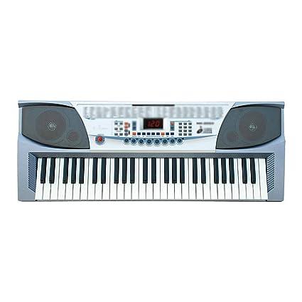 Piano de teclado, 54 teclas, multifunción, tipo de enseñanza, adulto, niños