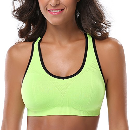 Large Product Image of Mirity Women Racerback Sports Bras - High Impact Workout Gym Activewear Bra