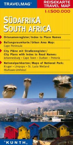 Reisekarte   Südafrika