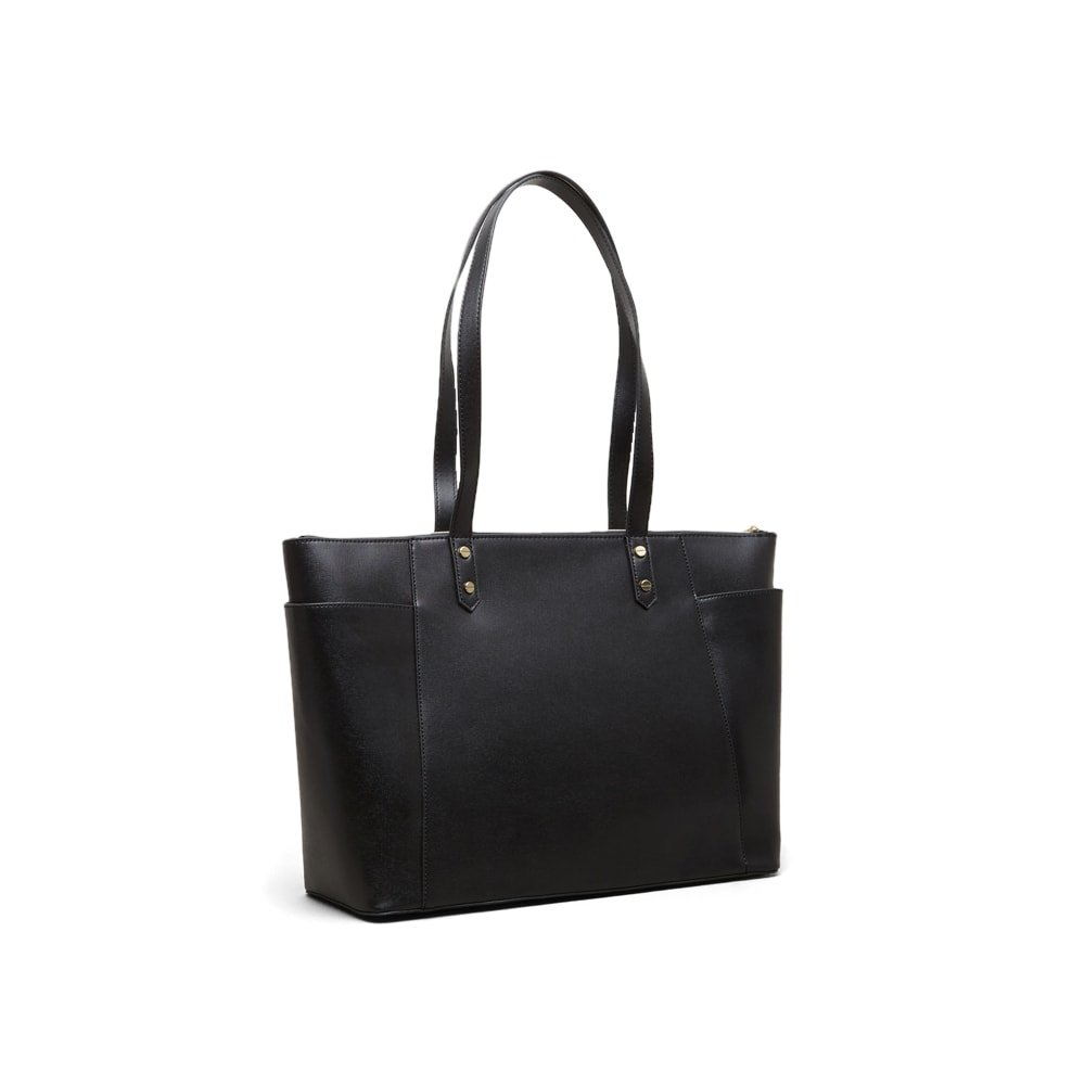 Kenneth Cole Reaction Downtown Darling A-Frame Business Tote, Black by Kenneth Cole REACTION (Image #2)