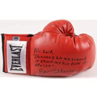 $124 » Earnie Shavers Autographed Everlast Boxing Glove (ali Inscription) - W/Coa! - Autographed Boxing Gloves