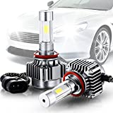 H11/H7 Car Head Light,Headlight Bulbs,Cool White All-in-one Conversion Kit/ Clear Arc-Beam Kit 12V Replace for Halogen or HID Bulbs (H11)