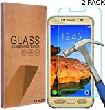 [2 Pack] Samsung Galaxy S7 Active Screen Protector, NOKEA [Tempered Glass] with [9H Hardness] [Crystal Clear] [Easy Bubble-Free Installation] [Scratch Resist] (for Galaxy S7 Active)