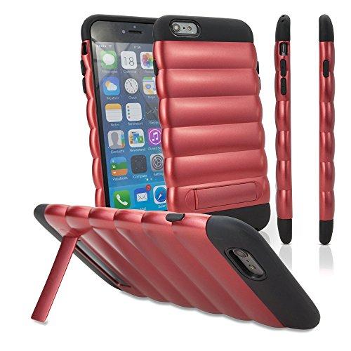 iPhone 6Cas, BoxWave® [ultrapuff Étui] pour Apple iPhone 6, 6S–Rouge carmin