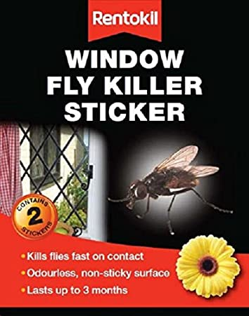 Window fly killer sticker amazon co uk garden outdoors