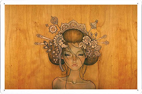 """Maria's Decor Tin Sign Metal Poster Plate Painted Modern Wall Decoration Art 8""""x12"""" (MAD06443)"""