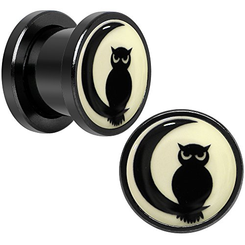 00 gauges plugs owl - 8