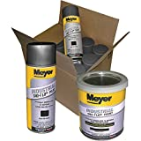 Meyer Sno Flo Paint - Black, 12 Cans, Model# 08676